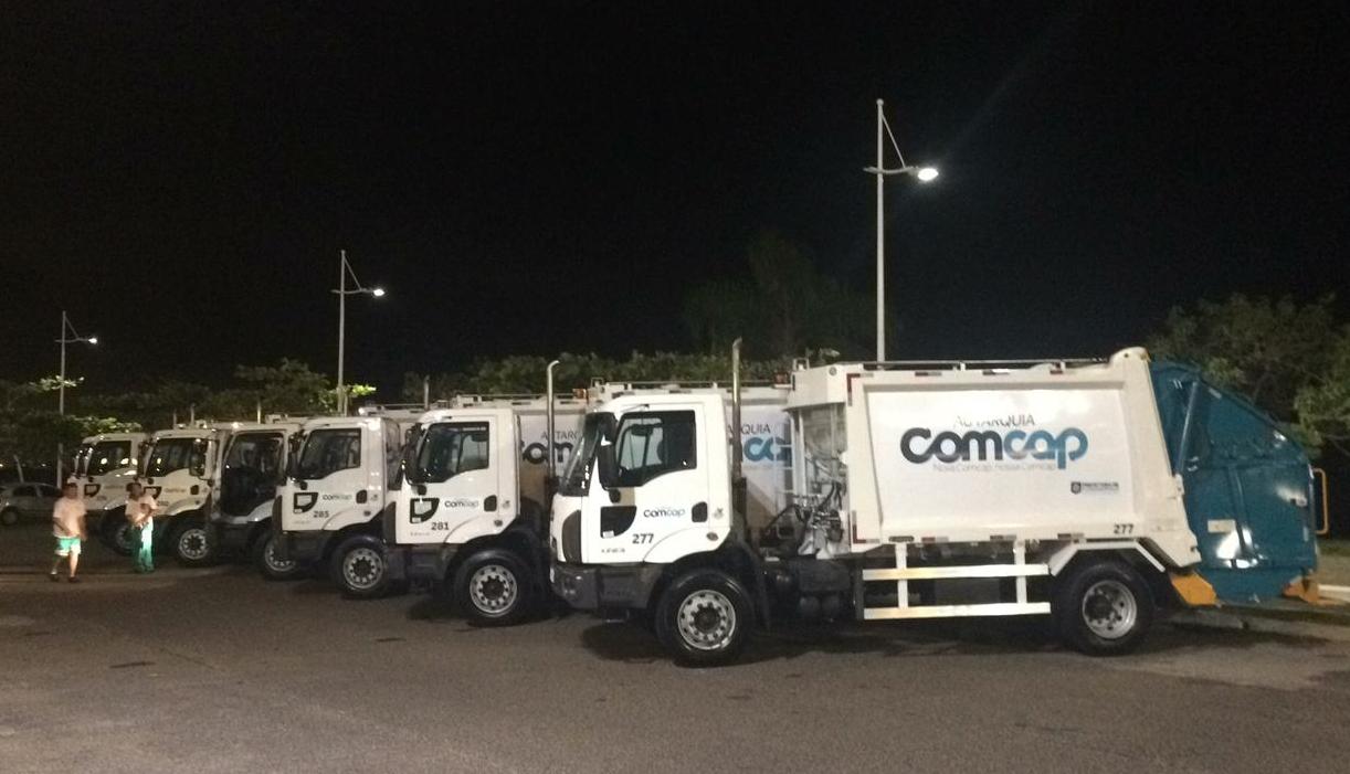 Frota renovada de caminhões de lixo entram em operação nesta semana em Florianópolis - PMF/ Divulgação