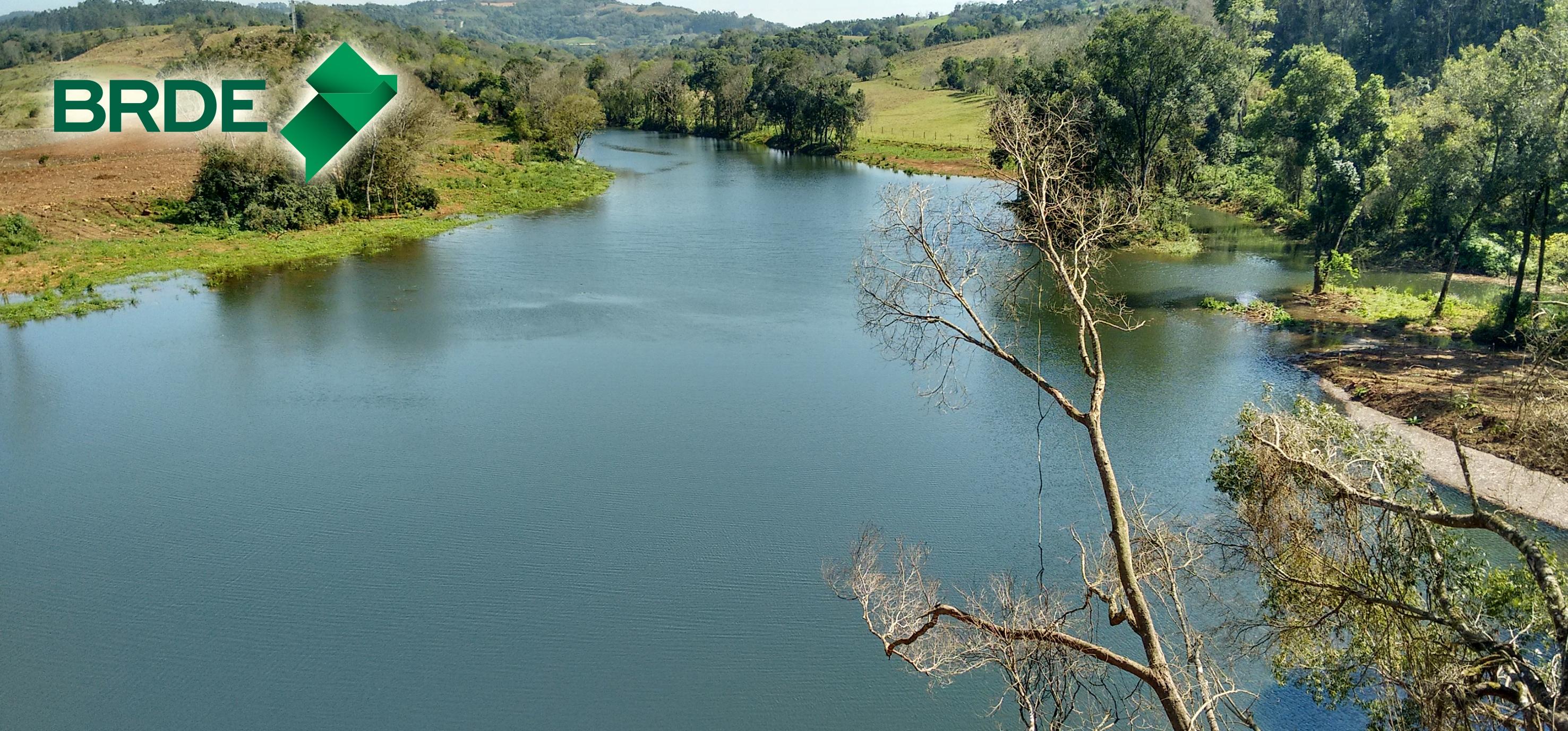 CGH Aparecida está na margem do Rio Pesqueiro, Jardinópolis/SC. A obra se localiza a cerca de 80 km Chapecó - Fotos/Divulgação Brasil Sul Energia