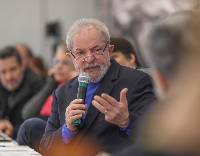 Lula participa do lançamento do Instituto Futuro - Ricardo Stuckert