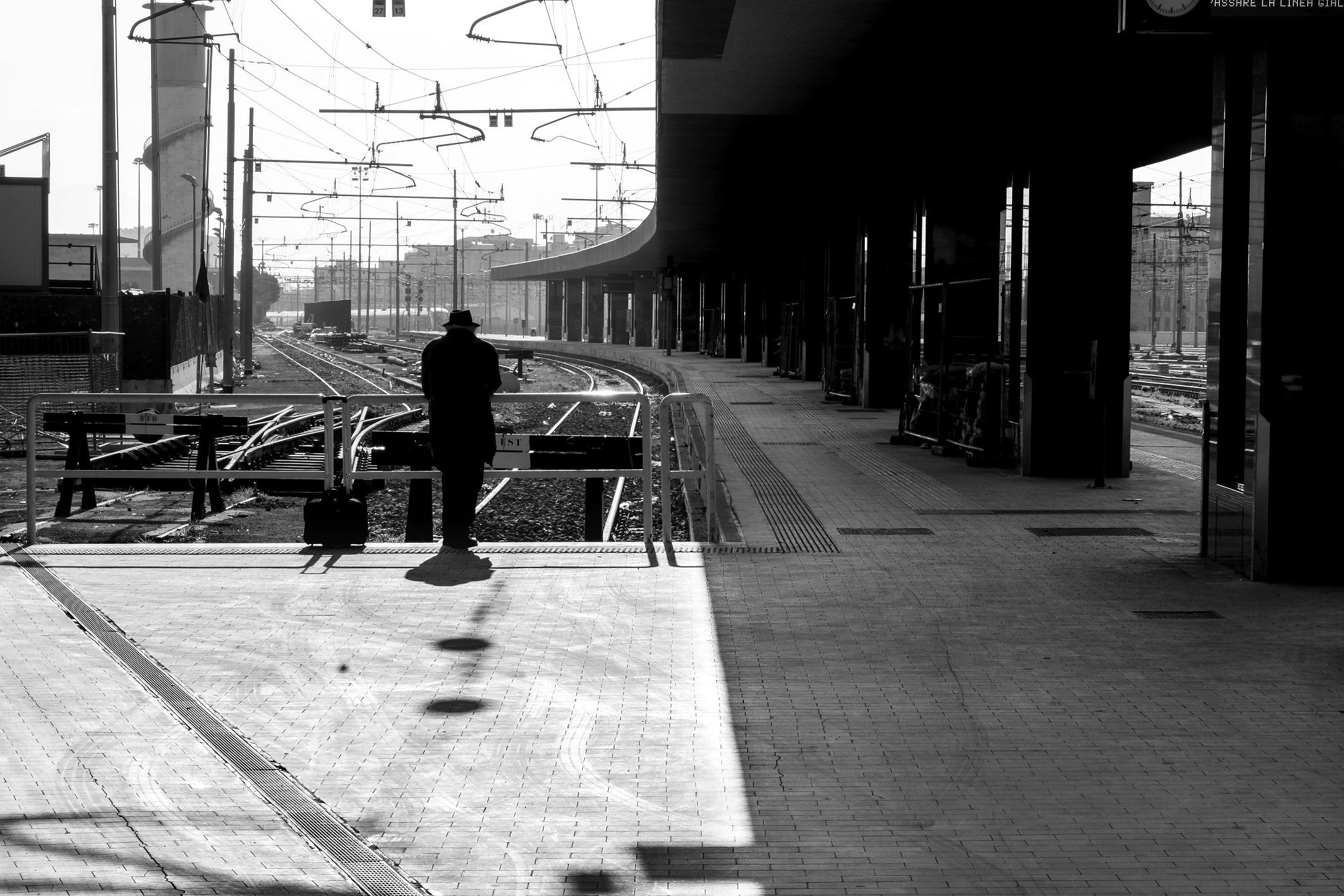 Fotografia captada em Roma, de Boris Kossy, que estará na exposição que comemora 50 anos de carreira do fotógrafo - Boris Kossoy/Divulgação/ND