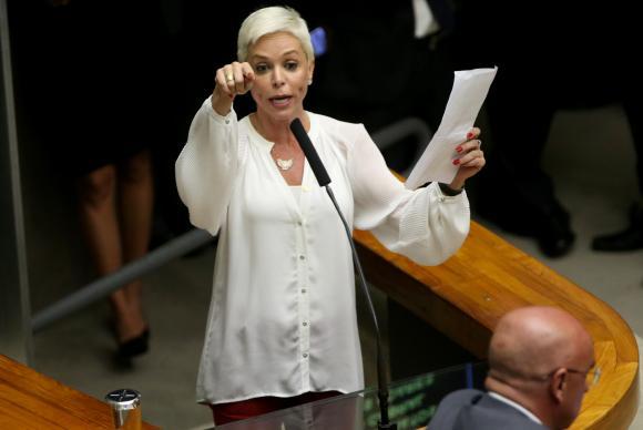 """Cristhiane Brasil diz que """"estão prendendo os conservadores"""" e reclama que """"o bonito não faz nada"""" – Foto: Wilson Dias/Agência Brasil"""