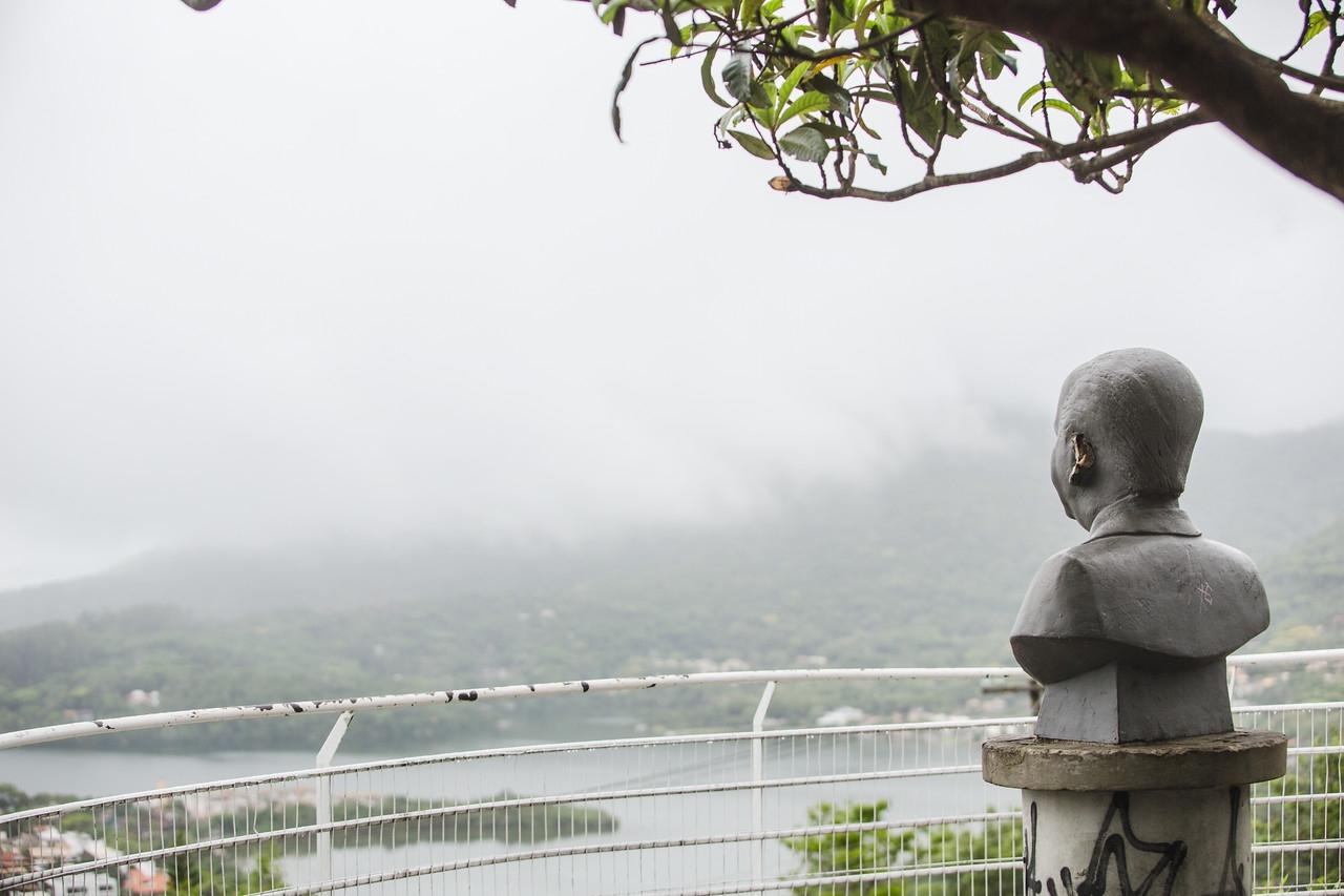 A sexta-feira será de tempo nublado com chance de garoa em Florianópolis - Daniel Queiroz/ND