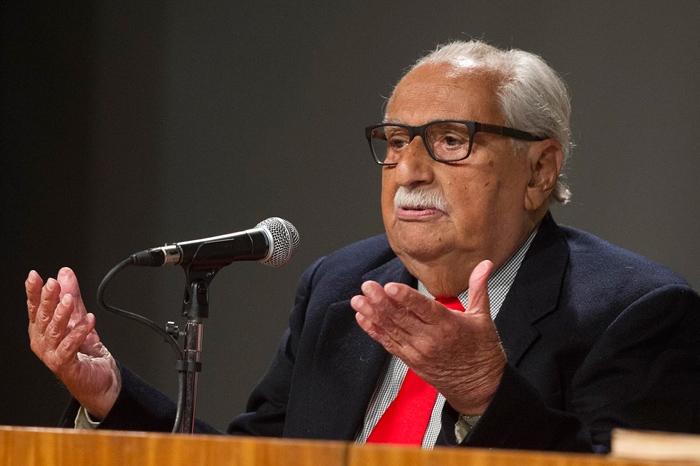O escritor Carlos Heitor Cony morreu na noite desta sexta-feira, aos 91 anos - ABL/Divulgação/ND