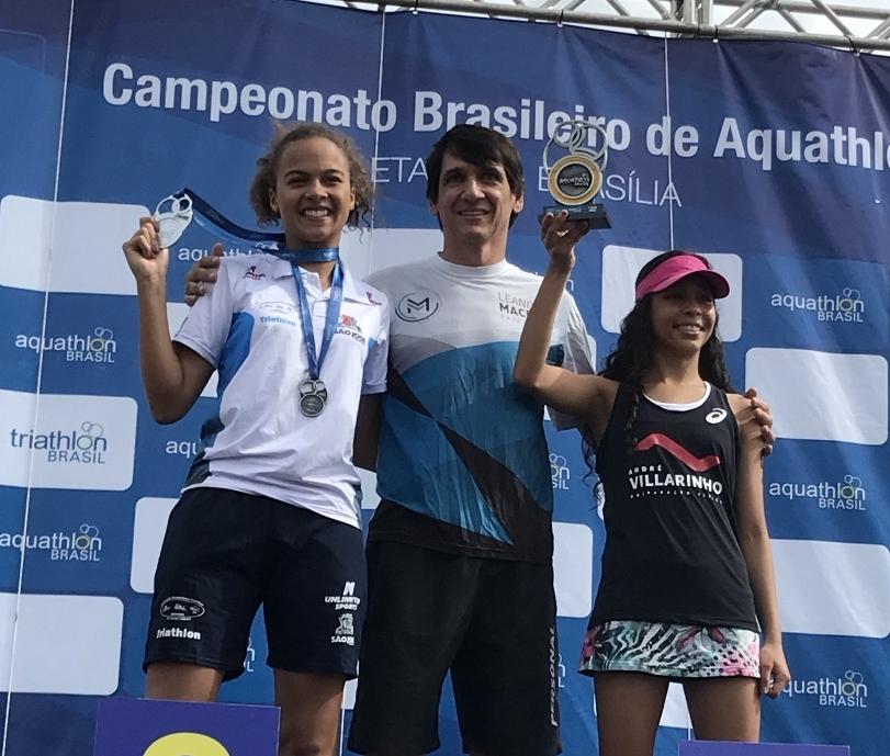 Maria Vitória Bresciani foi a vice-campeã na categoria Júnior - Divulgação/ND