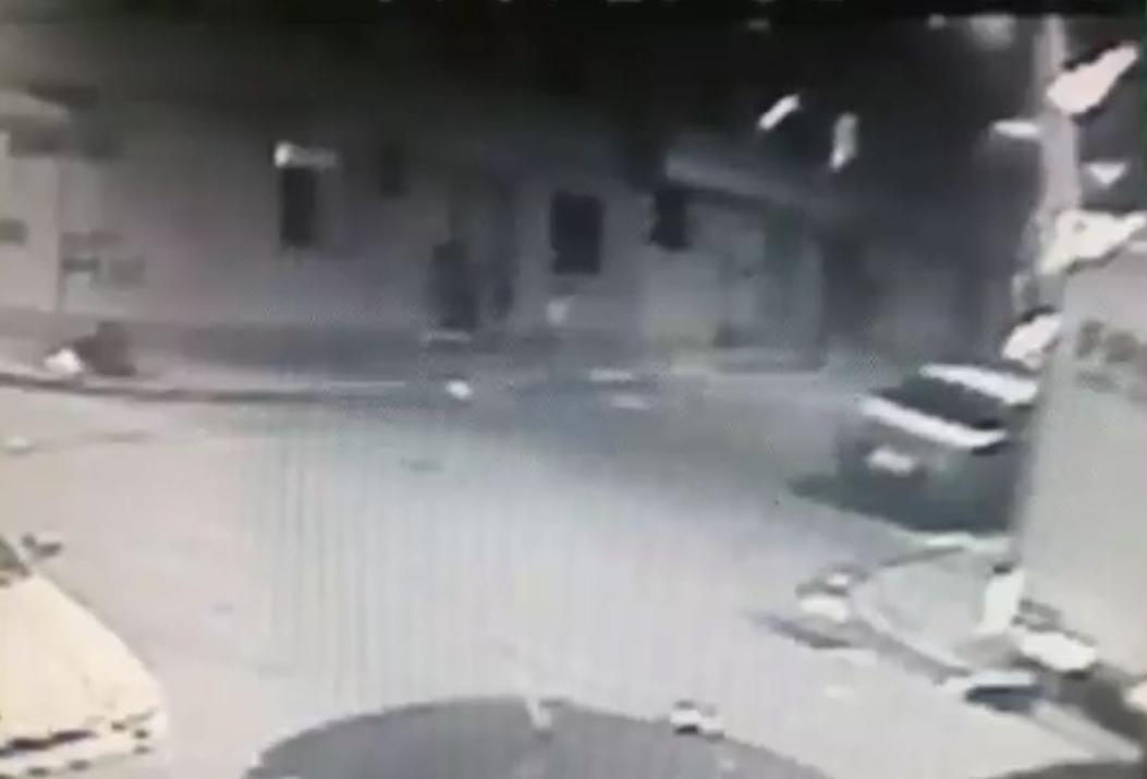 Vídeo mostra mulher sendo morte em casa de prostituição no Centro de Florianópolis - Reprodução/ ND