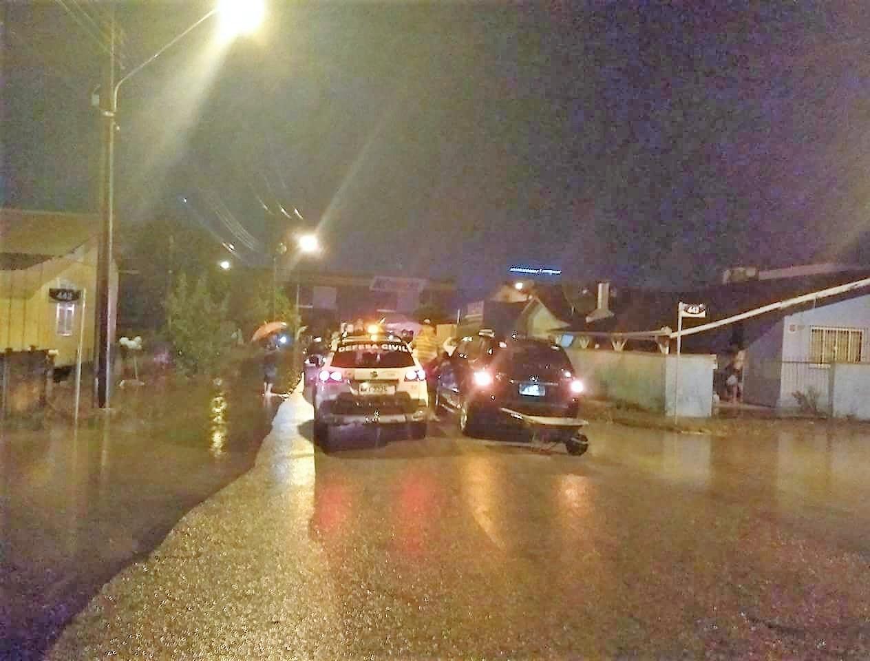 Em algumas casas, água atingiu um metro de altura  - Divulgação/ND