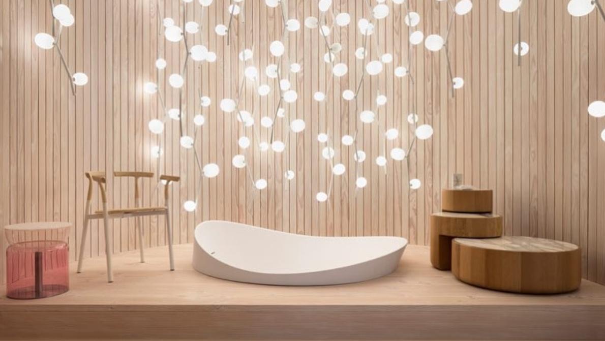 Sala de banho do espaço Das Haus - Instagram @luciekoldova/Divulgação/ND