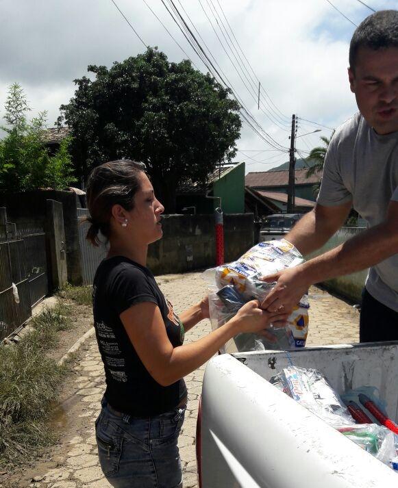 Prefeitura irá aceitar doações de móveis e eletrodomésticos para famílias que perderam seus bens devido a chuva - PMF/Divulgação/ND