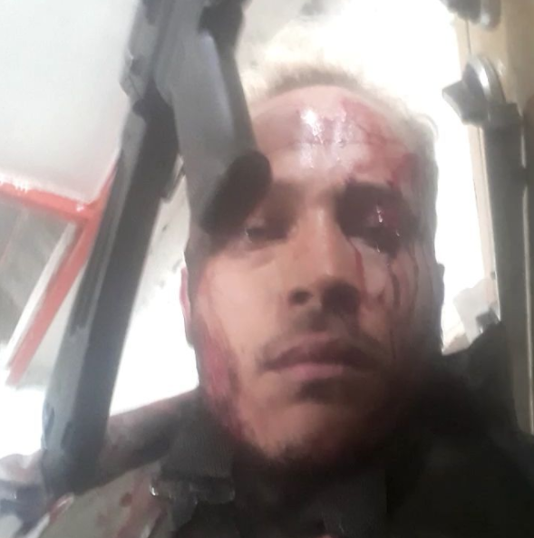 Óscar Pérez, policial que reivindica ter se rebelado contra o regime de Nicolás Maduro - Reprodução