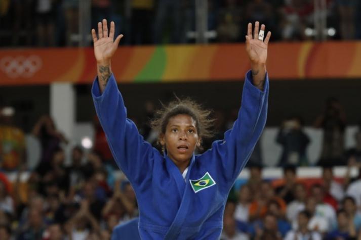 Rafaela Silva está entre os 18 convocados (Foto: JACK GUEZ / AFP) -