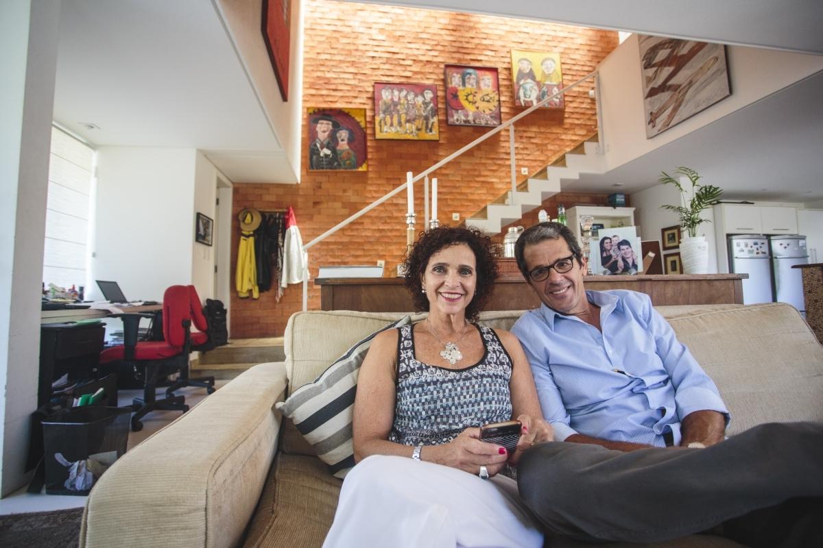 O casal Nívea e José Roberto ficou hospedado em três casas na Nova Zelândia - Daniel Queiroz/ND