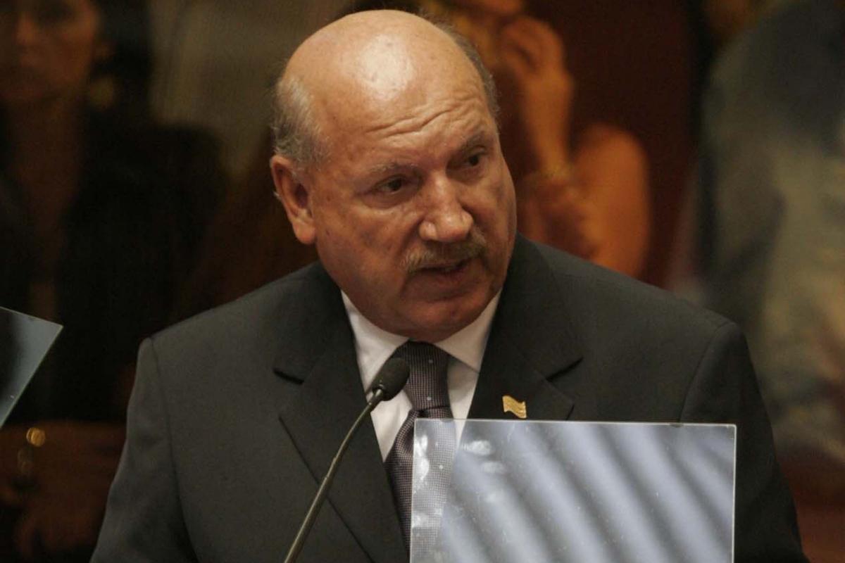 Luiz Henrique, em fevereiro de 2009 - Agência AL/ND