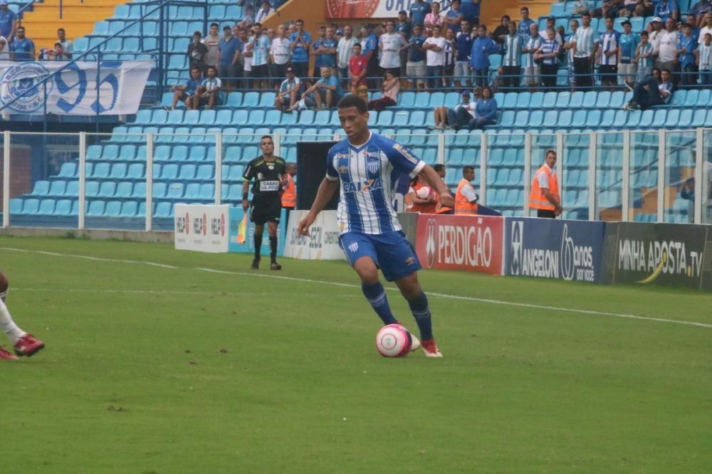 Luanzinho, que mudou o time nos dois últimos jogos, deve iniciar a partida em Brusque - André Palma/Avaí FC/divulgação/ND