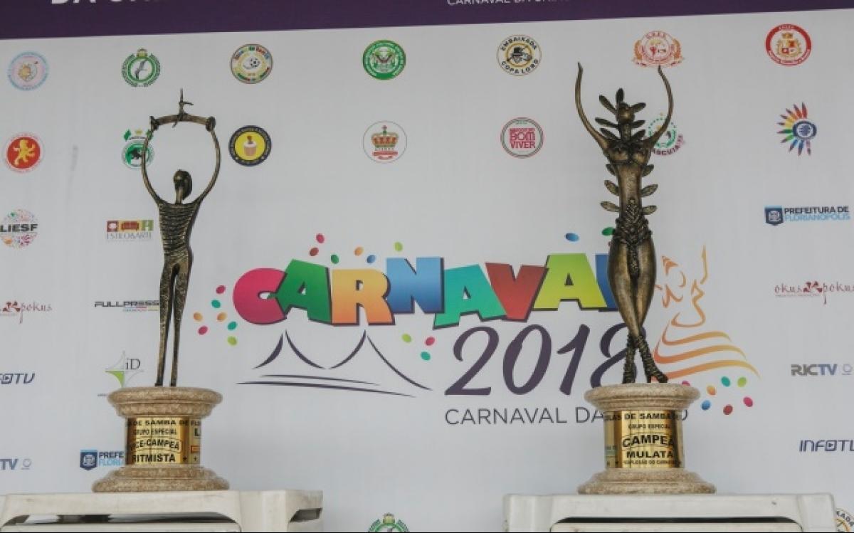 Carnaval 2018 em Florianópolis  - Daniel Queiroz/ND
