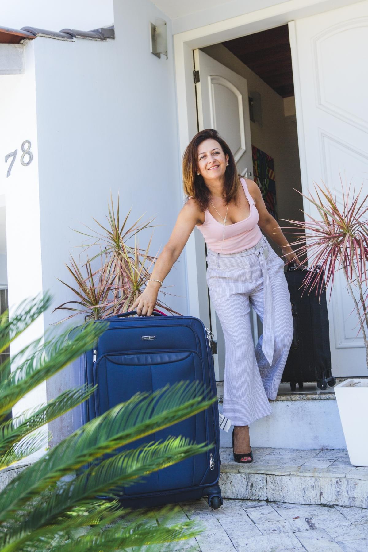 Eliane Furlan cedeu seu apartamento para uma canadense e parte esse ano para estadia em Montreal - Daniel Queiroz/ND
