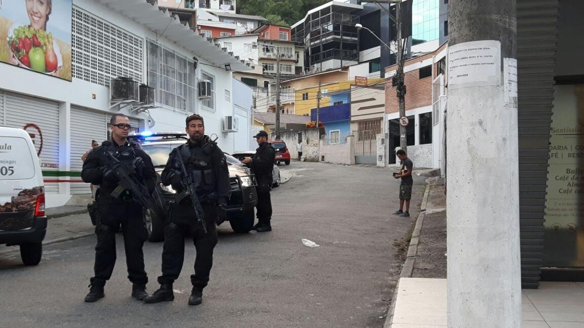 Operação Endemia da Polícia Federal é realizada no Centro de Florianópolis - Bruna Matos/RICTV/ND