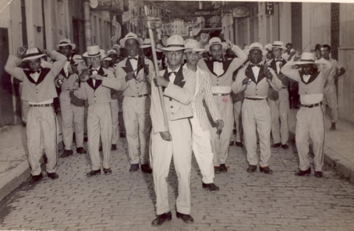 Em 1948 foi criada a escola de samba pioneira em Florianópolis, a Protegidos da Princesa - Reprodução/Flávio Tin