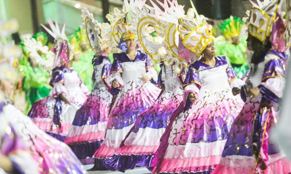 Protegidos da Princesa homenageou o oeste catarinense, a origem indígena de seu povo e o potencial agropecuário da região - Daniel Queiroz/ND