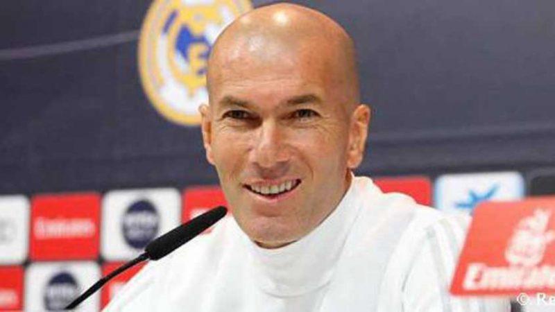 Zidane diz valor pago pelo Real por ele também foi loucura (Foto: Divulgação/Twitter Real Madrid) – Foto: Divulgação/Twitter Real Madrid