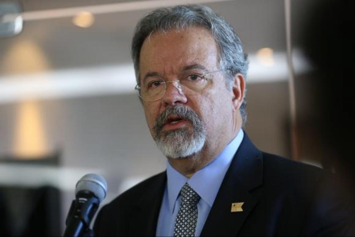 O ministro extraordinário da Segurança Pública, Raul Jungmann, informou que a PF já abriu mais de 50 inquéritos para apurar a munição desviada - Antonio Cruz/Agência Brasil/Divulgação/ND
