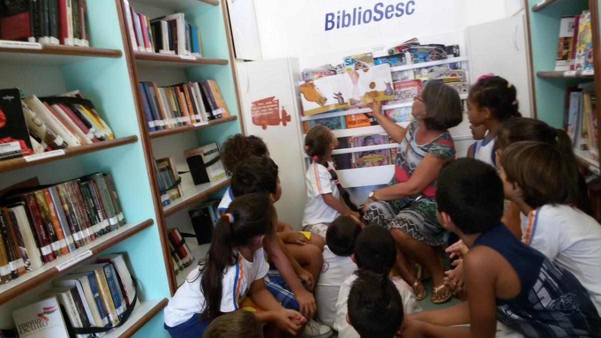 BiblioSesc completa 10 anos em 2018 - PMF/Divulgação/ND