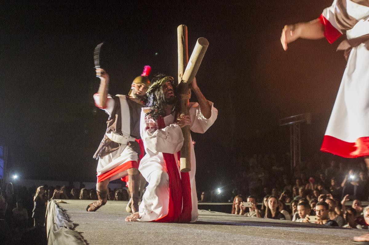 Encenação é apresentada desde 1983 no Ribeirão - Marco Santiago/ND