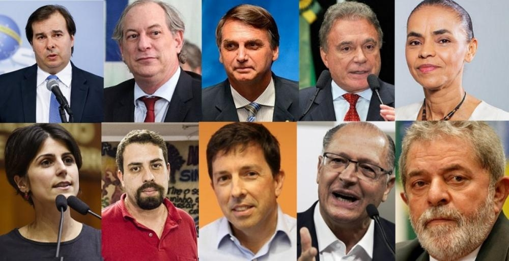 Candidatos à presidência da República - ND/Divulgação