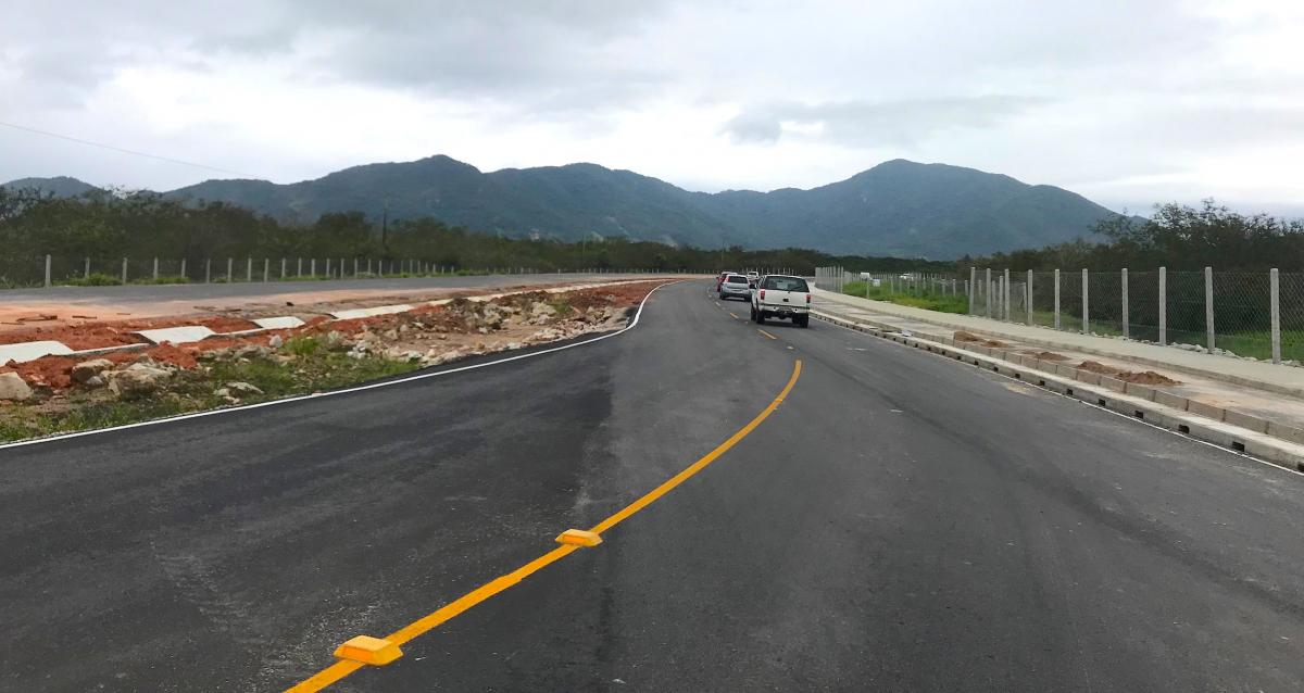 Obras do primeiro trecho do acesso ao Sul da Ilha estão 96% completas - Júlio Cancelier/Secretaria de Infraestrutura/Divulgação/ND