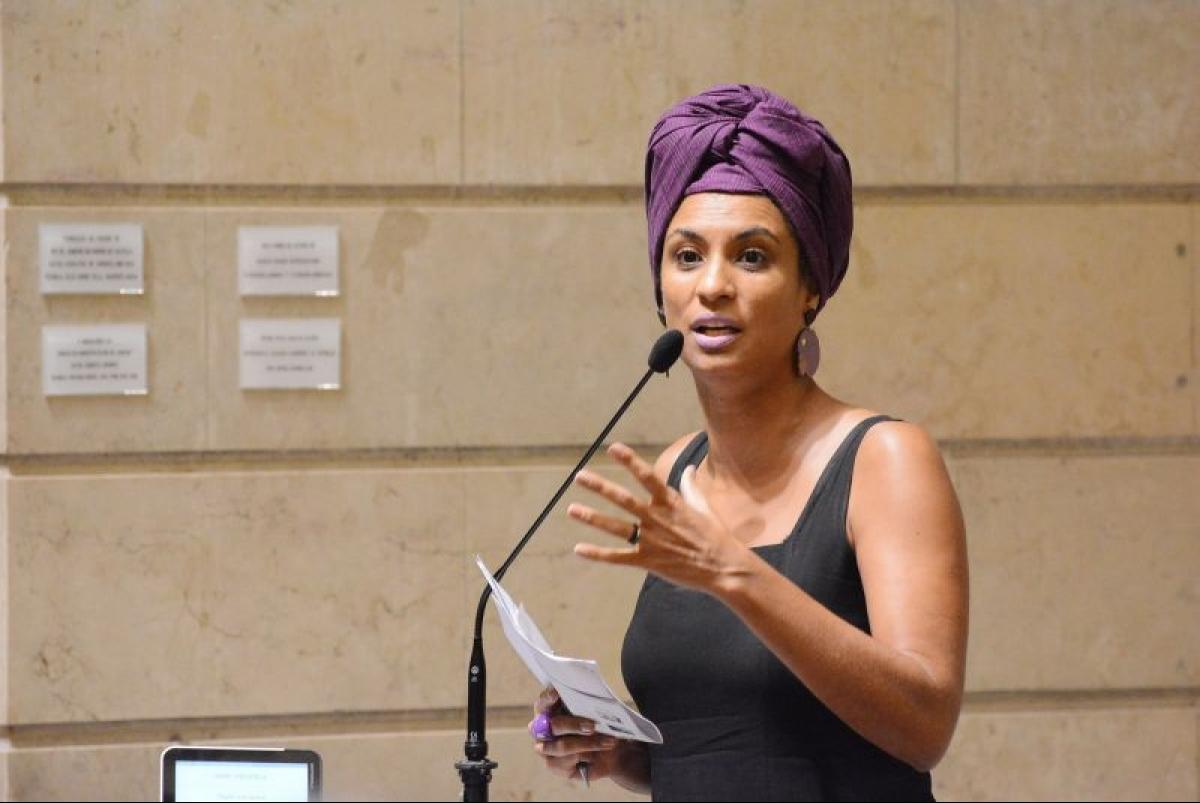 Vereadora Marielle Franco (PSOL-RJ) foi executada com quatro tiros na cabeça - Agência Brasil/Divulgação/ND