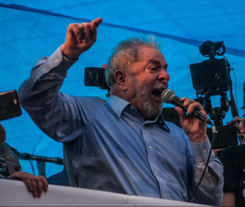 Lula discursa em Porto Alegre - Fábio Bispo