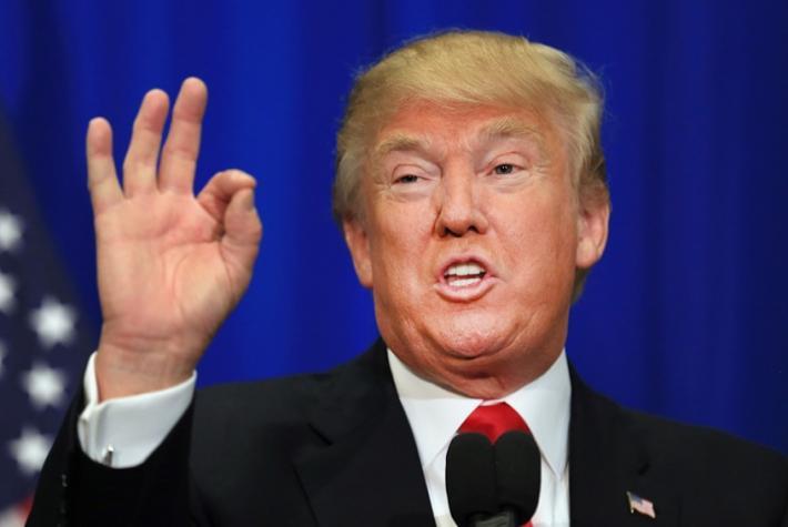 Trump falou sobre situação com o Irã em coletiva de imprensa nesta quarta (22) – Foto: Divulgação/RIC Mais SC