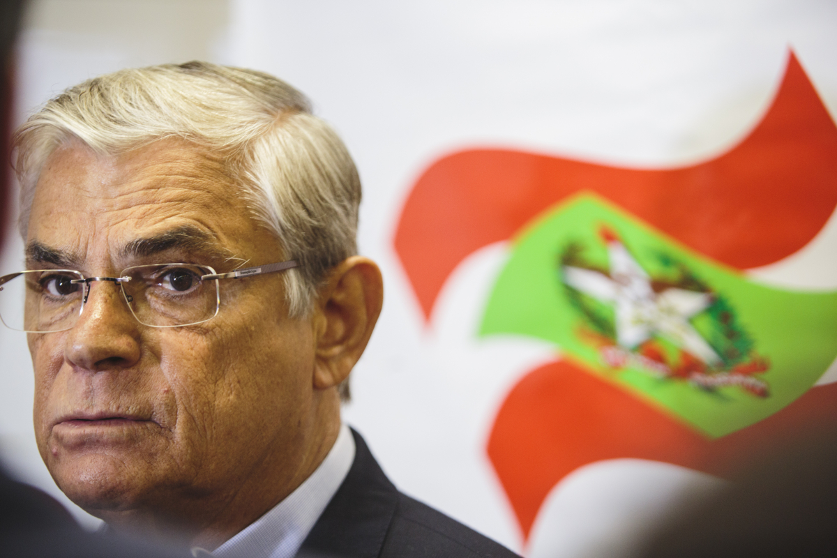 Ex-governador Eduardo Moreira é alvo da 2ª fase da Operação Alcatraz – Foto: Arquivo/Daniel Queiroz/ND