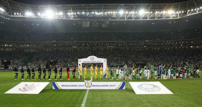 Último Dérbi no Allianz Parque: Palmeiras 0 x 2 Corinthians - 12/7/2017 - Brasileiro - Cesar Greco/Ag Palmeiras