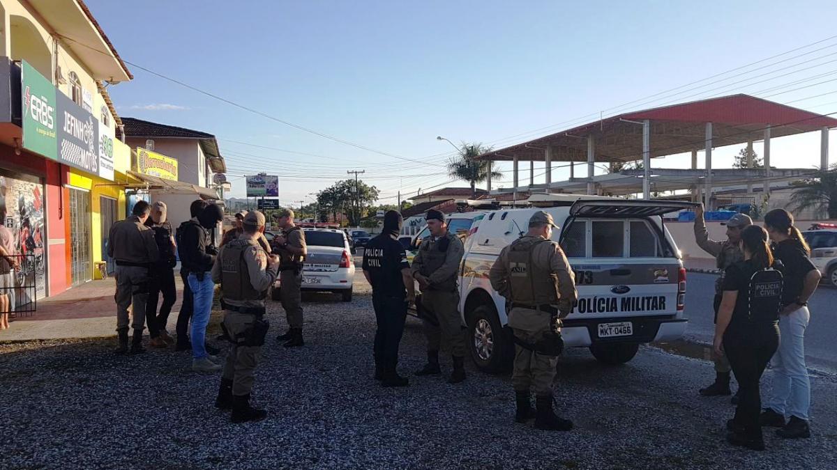 Operação foi realizada na manhã desta quinta-feira na Grande Florianópolis - Polícia Militar/Divulgação/ND