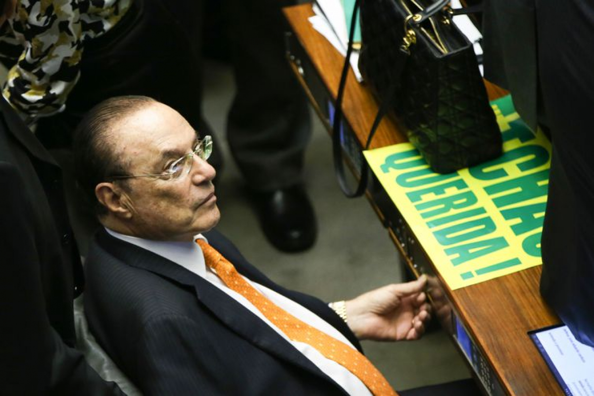 Maluf teve direito a prisão domiciliar garantido nesta quinta-feira - Marcelo Camargo/Agência Brasil/Divulgação/ND