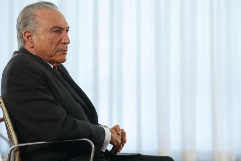 Em entrevista, Temer avaliou positivamente os primeiros meses de governo - Beto Barata/PR