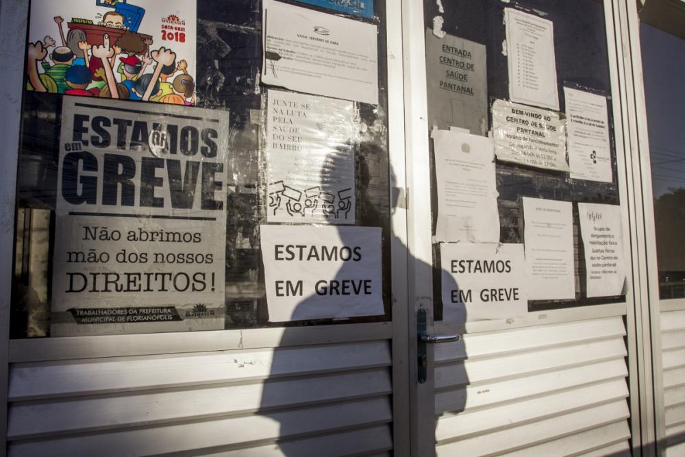 A continuidade da greve mantém o atendimento prejudicado em diversas unidades de saúde - Marco Santiago/ND