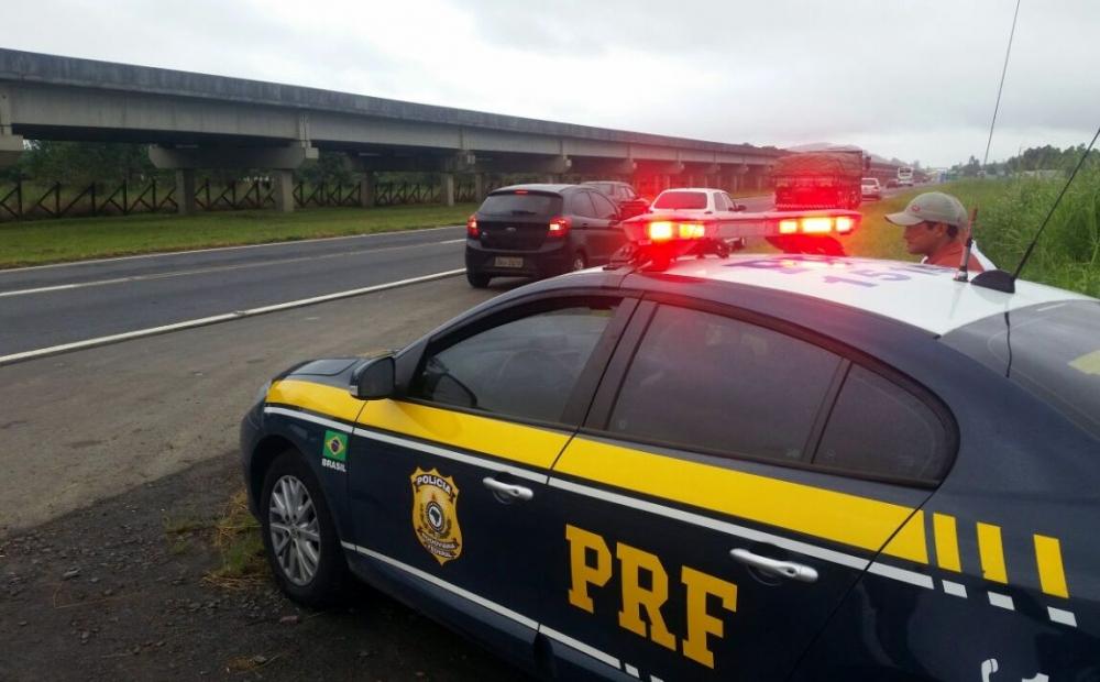 Operação da PRF intensificou as fiscalizações nas rodovias durante o feriadão - PRF/Divulgação/ND