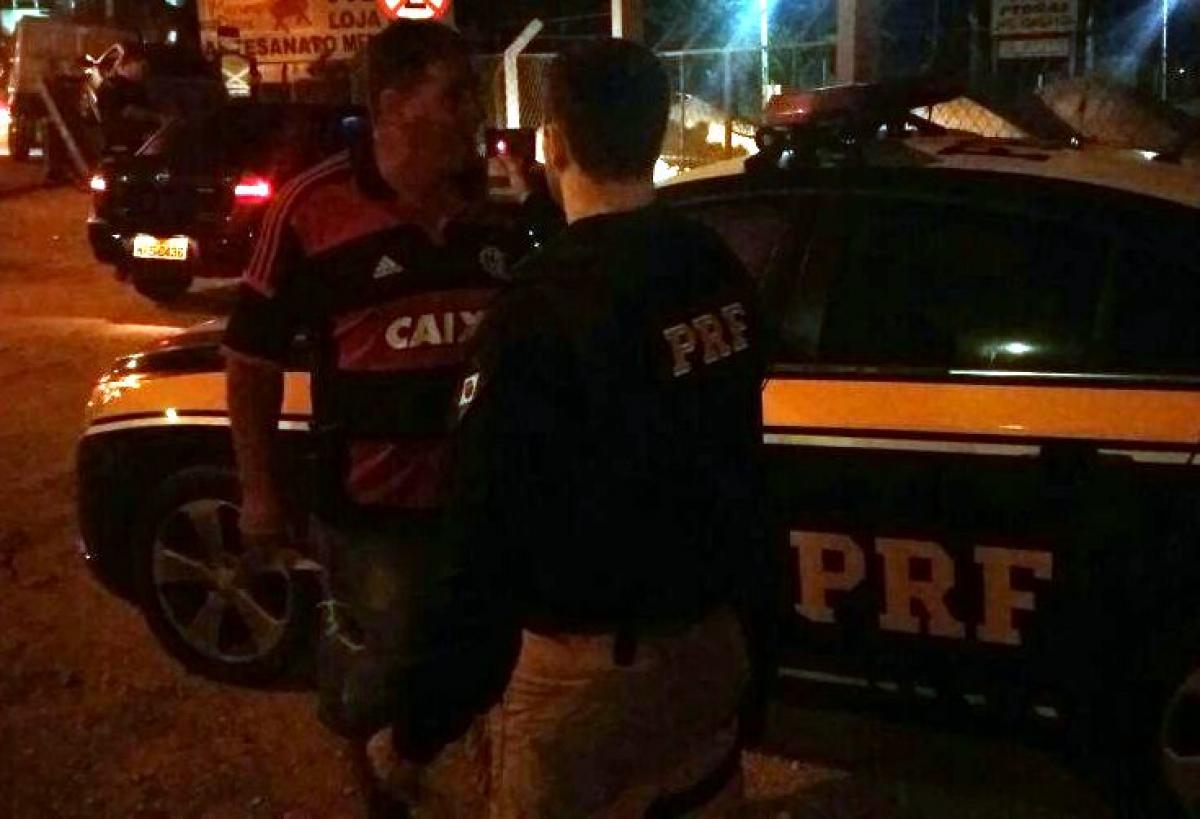 Até o domingo, 1.478 condutores fizeram o teste de alcoolemia nas 26 unidades da PRF no Estado - PRF/Divulgação/ND