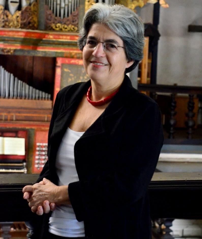 Elisa Freixo, uma das principais organistas do país - Eduardo Tropia/Divulgação/ND