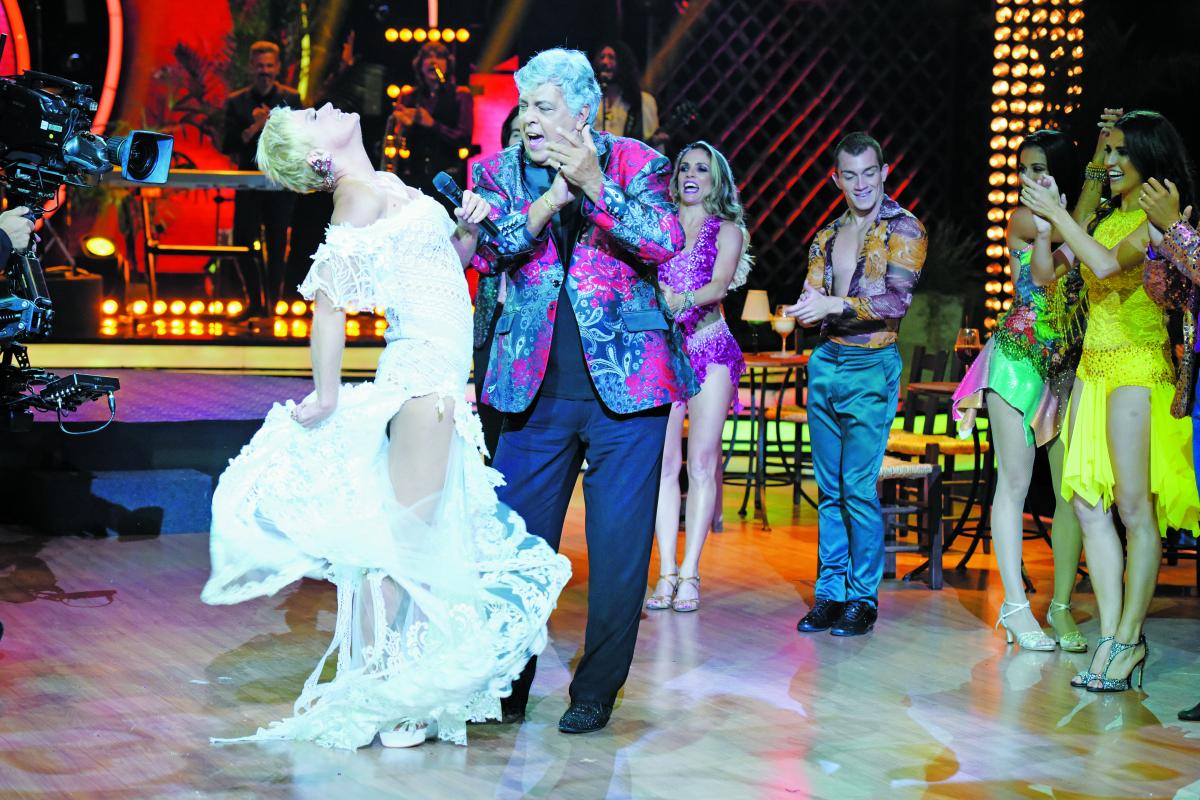 Xuxa dançou com Sidney Magal - Blad Meneghel/Divulgação