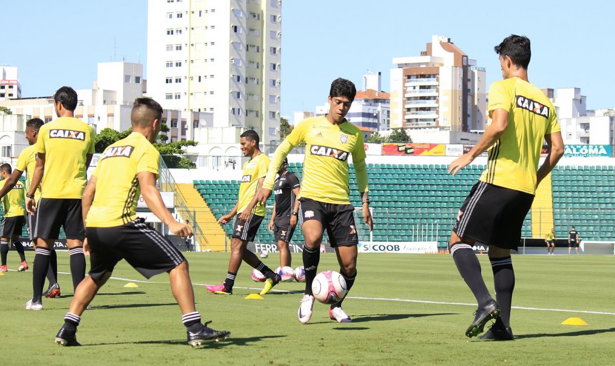 Elenco treinou nesta quinta-feira (5) em Florianópolis - Luiz Henrique/Figueirense FC/divulgação