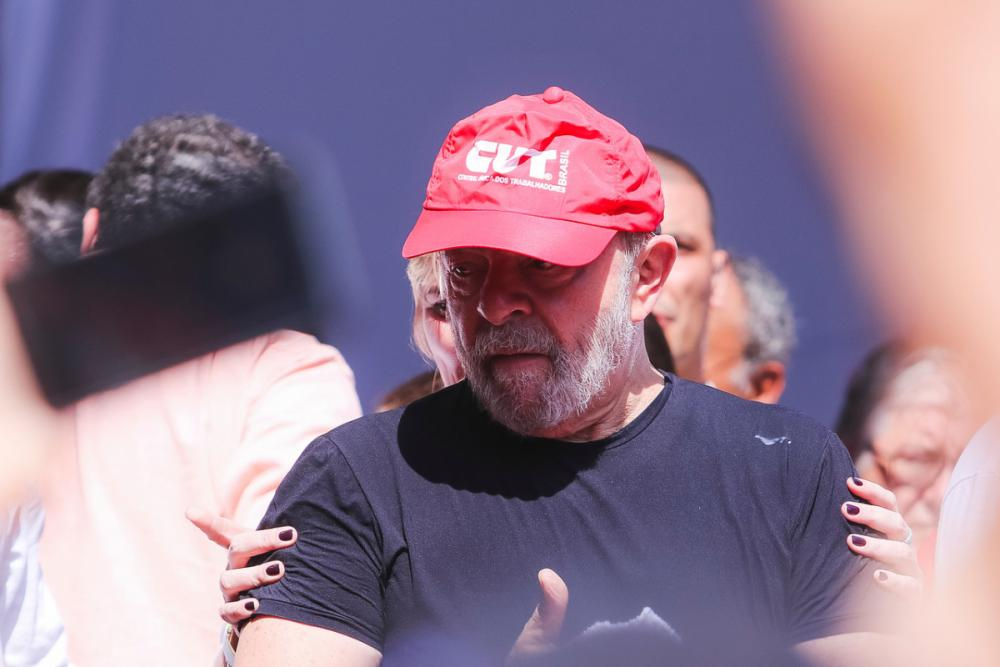 De acordo com a defesa, a condenação imposta a Lula pelas duas instâncias judiciais foi baseada na palavra de um corréu - Daniel Queiroz/ND