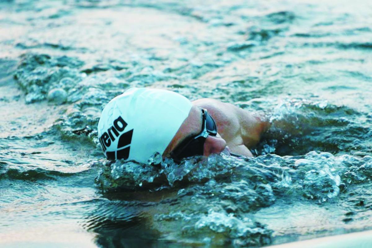 A prova deste domingo tem 1,9 km de natação - Acervo pessoal/Divulgação