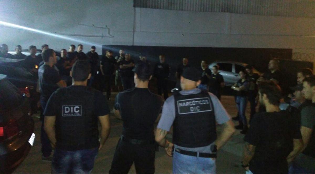 Operação policial contou com mais de 15 policiais civis e militares - PM/Divulgação/ND