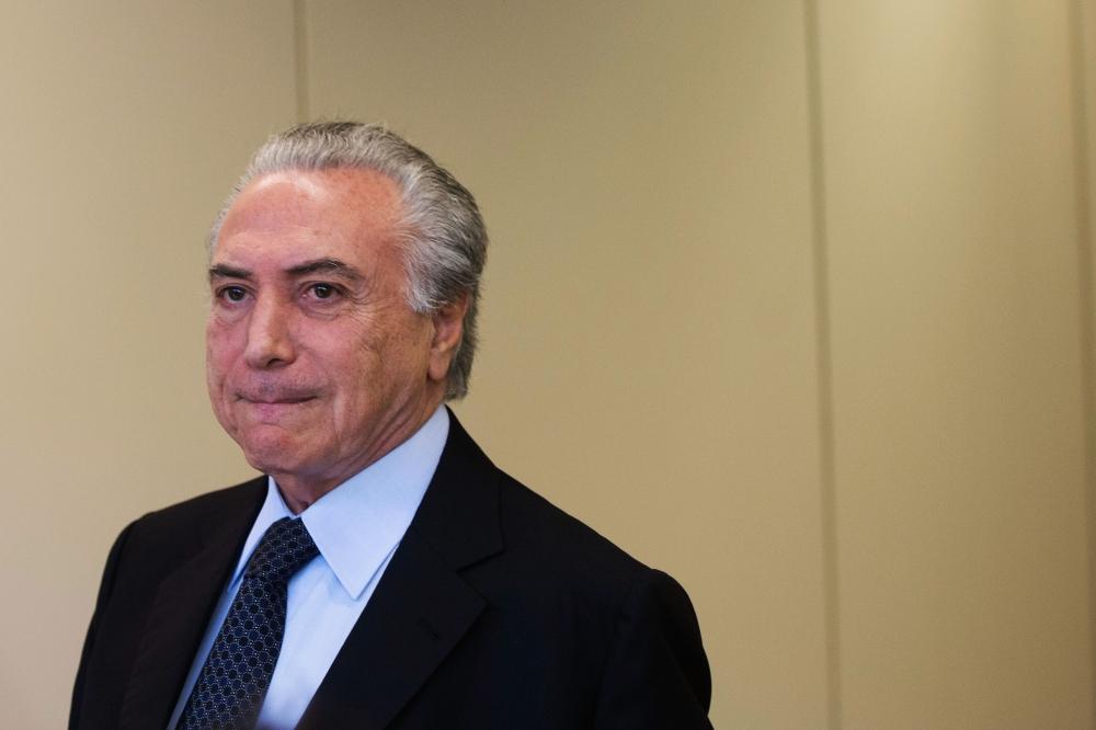 Segundo relatório da Polícia Federal, Temer teria praticado o crime de corrupção passiva - Agência Brasil/Divulgação/ND