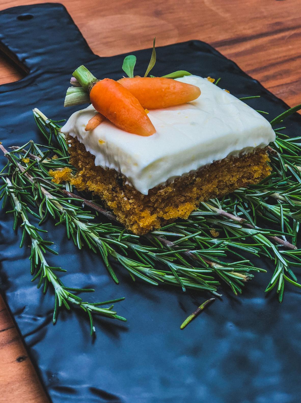 Carrot Cake em versão de liquidificador - Espaço Mi Casa