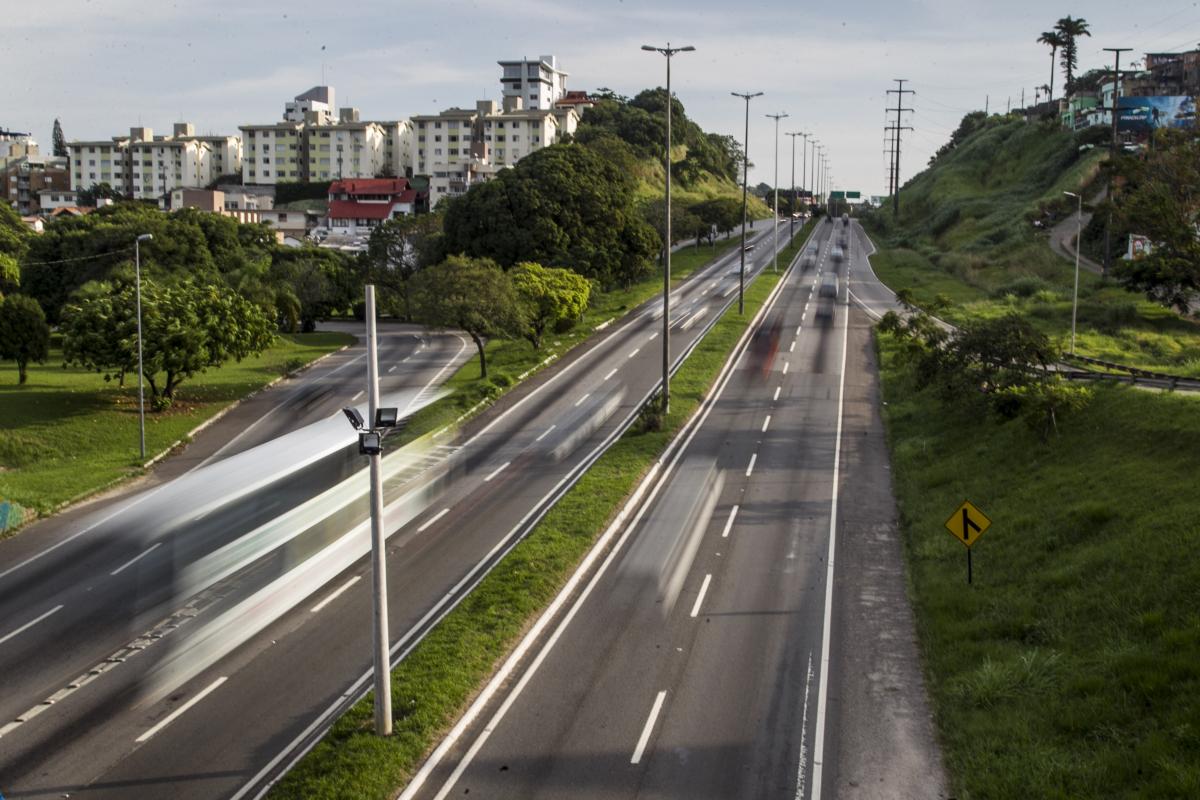 Ônibus do transporte coletivo terão faixas exclusivas e o tempo de cada viagem deve cair em menos da metade - Marco Santiago/ND