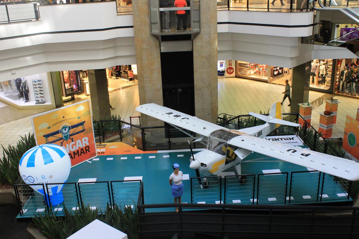 Avião ultraleve é utilizado exclusivamente para passeio ou mapeamento - Divulgação