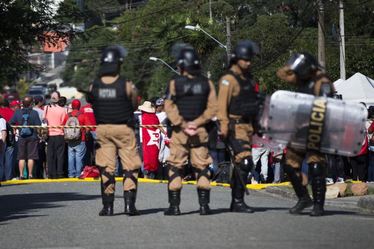 PF em Curitiba mantém segurança reforçada - Marcello Casal/AgÊncia Brasil